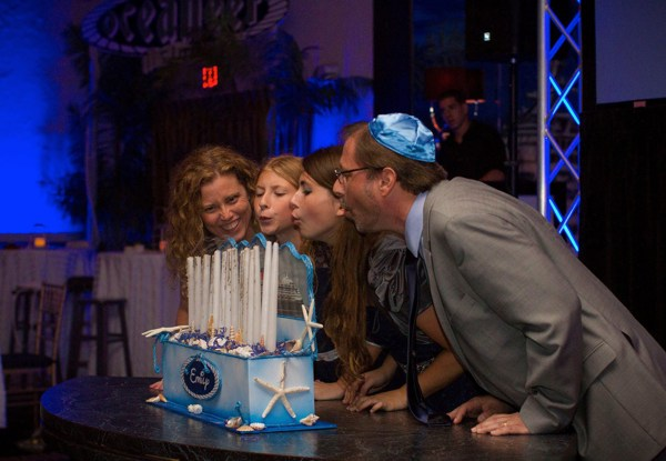 bat mitzvah family